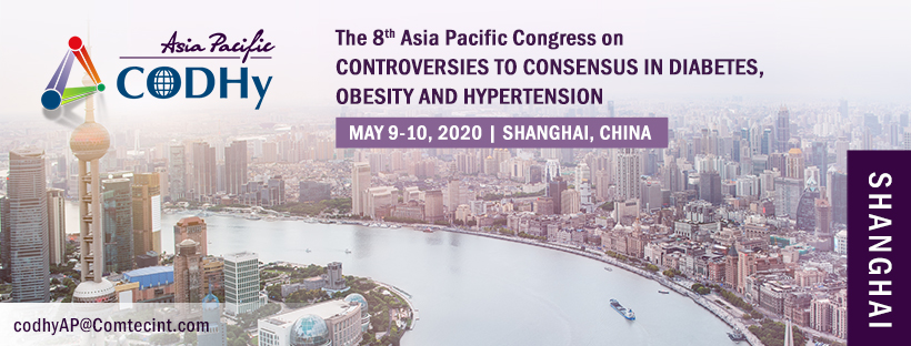 8th Asia Pacific Congress on Controversies to Consensus in Diabetes, Obesity and Hypertension (CODHy)